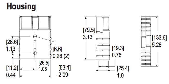 SB175 Mechanical Drawing