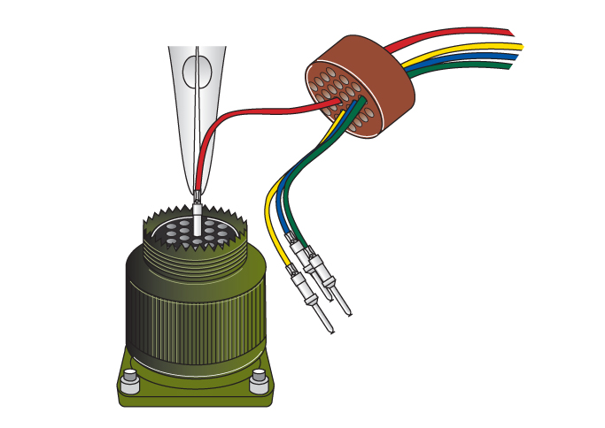 amphenol connector assembly instructions