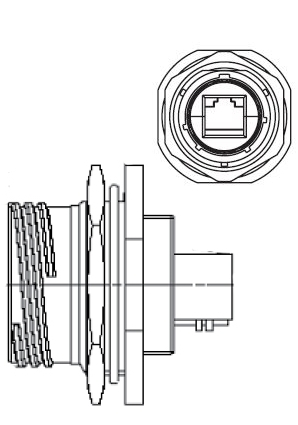 Jam Nut Receptacle Figure 1