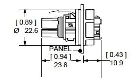 30 Female Receptacle Plug Female Adapter Plug Wiring