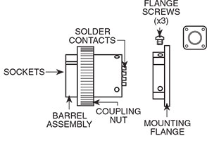 Flange Plug Drawing