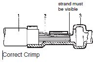 Stamped Contacts Correct Crimp