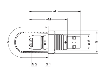 Metal Shell FNG line drawing