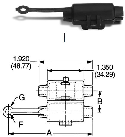 Connector Mounting Clip (Sure-Seal® Only) Type 1
