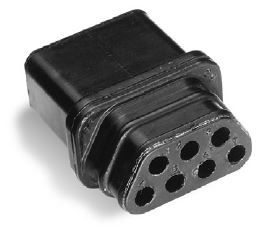 Rectangular Sure-Seal® Connector 120-1873-007*