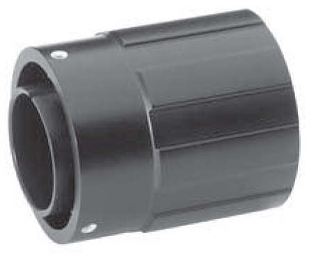 Straight Plug with Extended Heavy Duty Coupling Nut