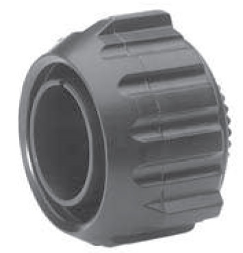 Straight Plug with Rubber Covered Coupling Nut
