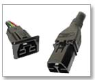 Anderson Saf-D-Grid® 600 VDC Receptacle & Power Cord