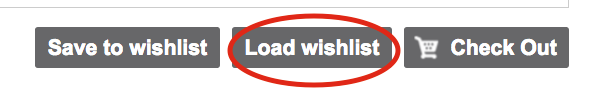 Load Wishlist Button