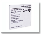 Foam Nameplate Labels