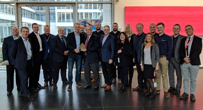 PEI-Genesis Recognized by Cinch Connectivity Solutions as Value-Add Distributor of the Year for EMEA, at Electronica