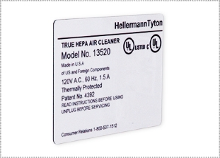 HellermannTyton Foam Nameplate Labels