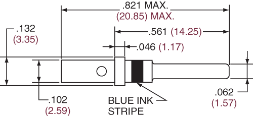 Pin Contact Size 16