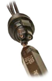 3 Pole Mini PL Spec Pak® Plug (Female) Populate Shell Figure 2