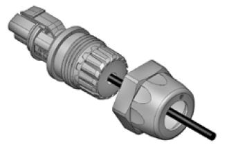 3 Pole Mini PL Spec Pak® Plug (Female) Final Assembly Figure 3