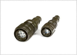 Cinch Fibreco D38999* Series III (Derived) Expanded Beam Fibre Optic Connector