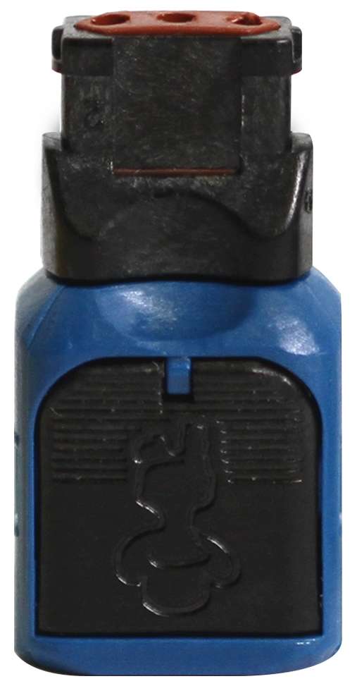 Blue Connector Top View