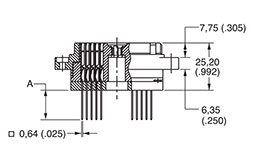 DL/DLM3-60 Receptacle Diagram