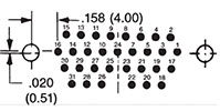 31 Contact Pin Termination Arrangement