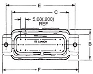 P4 Receptacle Dimensions