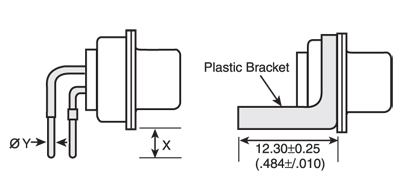 Right Angle With Bracket