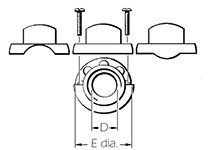 Unsealed Cable Clamps Diagram 2