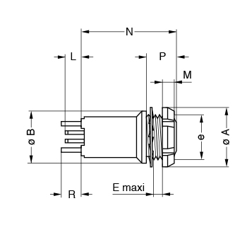 Metal Shell XPF line drawing