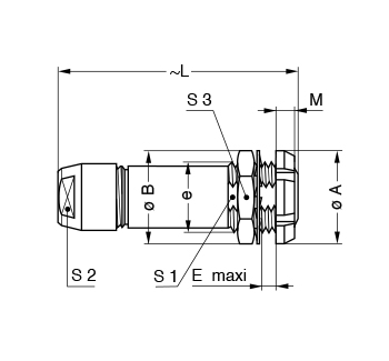 Metal Shell PFG line drawing