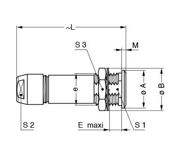 Metal Shell PKG line drawing