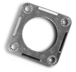 Connector Mounting Plate-2-4 Circuit Plug