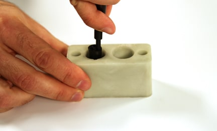 Manual Insertion of Contacts Step 6