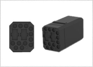 Rack and Panel Connectors G-Series by TE Connectivity