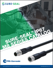 Sure-Seal® IP67 M8 Connectors